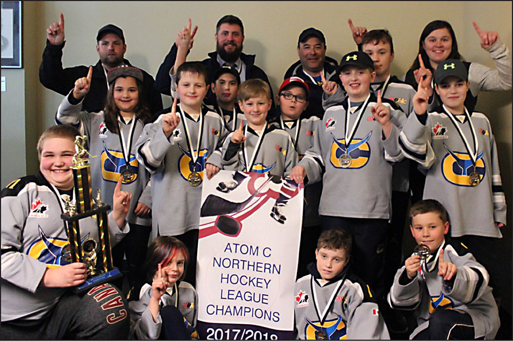 HEROES  WELCOME  The Canso Atom Bluefins came home with the gold on  Saturday 2612bbfdb